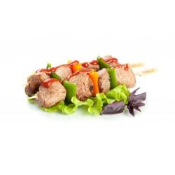 Свиной шашлык (кефирный маринад)